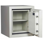 Dudley Europa £60,000 Drawer Drop Security Safe Size 1 - door open shown without drawer