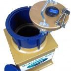 Churchill Domestic Underfloor D3L Safe £4000 showing key lock