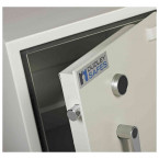 Dudley Harlech Lite S1 Size 1 Insurance Rated Security Safe - door bolts