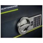 Closeup of the Digital Electronic Lock on the Burton Home Safe
