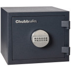 Chubbsafes Homesafe S2 10E Electronic Fire Security Safe - at an angle