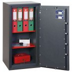 Phoenix Venus HS0653E Eurograde 0 Digital Fire Security Safe - showing security certification