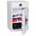 Eurograde 1 Deposit Safe - Phoenix Diamond HS1093ED - Door Open