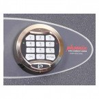 Phoenix Planet HS6075E Police Approved Dual Key & Electronic Eurograde 4 Fire Safe - Electronic Lock Detail
