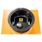 """Hydan Standard 1 £4000 Rated 9"""" Round Door Floor Safe - door fitted"""