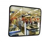 Heat Resistant Stainless Steel Mirror - Dancop 60x80cm in use