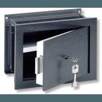Wall Security Safe - Burg Wachter Size 1 Karat Key Locking