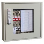 Phoenix KC0401E Closed with Clear View of adjustable hook bars and removable control indexes