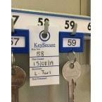 Keysecure Key Control Location Card in use