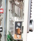 Key Secure KS100D-MD Deep Cabinet - Slam shut Lock mechanism