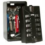 Keysecure KSDIGI Large Push Button Weatherproof Key Safe with 2 hooks for 6-8 Yale style keys.