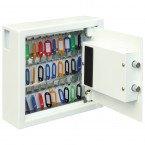 Phoenix Cygnus 30 hook Electronic Key Deposit Safe - wide open