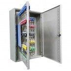 Key Storage Wall Fixed Cabinet for 150 Keys - KeySecure KS150 open