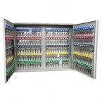 KeySecure KS200D Deep Key Cabinet 200 hooks open
