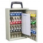 Keysecure KS30M Mobile Key Storage cabinet for 30 keys open door