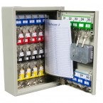 KeySecure KS30 Key Storage Wall Fixed Cabinet 30 Keys - Premium Electronic Combination Lock - rear view