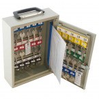 Keysecure KS30M Mobile Key Storage cabinet for 30 keys or small bunches