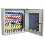 Key Secure KS40V-E Key View Window Cabinet Electronic 40 Keys - door open