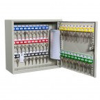 Key Secure KS50D Deep Key Cabinet 50 Hooks - Key Cam Lock