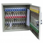 Key Secure 50 Hook Self Closing Key Cabinet Open