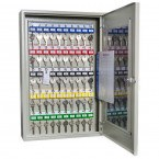 KeySecure KS25CV-E Car Key View Window Cabinet Electronic 25 Hooks - door open