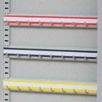 KSE300P - Blank Self Adhesive Hook Bar Label Strips