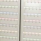 KSE300V - Numbered Self Adhesive Hook Bar Label Strips