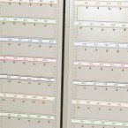 KSE300P - Numbered Self Adhesive Hook Bar Label Strips