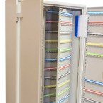 Large Key Safe to store 400 Bunches  of Keys - KeySecure KSE400V has twin internal swing out panels for extra storage