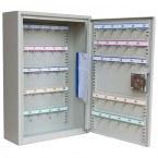 Extra Secure Padlock Cabinet 50 Hooks - KeySecure KSE50P open