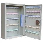 Keysecure KSE50C-MD 50 Hooks Push Button Digital Vehicle Key Cabinet - door open