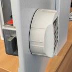 Securikey Key Vault KVD100 Electronic Lock internal and external view