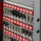 Securikey KZ120-ZE Electronic - Adjustable Key Hook Bars on door
