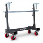 Armorgard Loadall LA750-PRO Board Handling Trolley loading up to 750kg