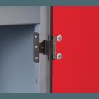 Probe Steel Laminate Inset 1 Door Locker Door Hinge detail