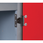 Probe Laminate Inset 3 Door Locker 305x380 Key lock  - Hinged door