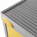Probe Flammable Hazardous Dished Top with rubber mat