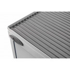 Probe COSHH Small Steel Cabinet with Dished Top close up