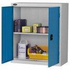 Probe LC403618 Double Door Cabinet 915x460 - Blue doors - Silver Grey body