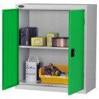 Probe LC403618 Double Door Cabinet 915x460 - Green doors - Silver Grey Body