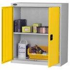 Probe LC403618 Double Door Cabinet 915x460 - Yellow Doors - Silver Grey body