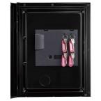 Phoenix Spectrum Plus LS6011FB Titanium Black Luxury Fire Security Safe door key rack