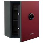 Phoenix Spectrum Plus LS6012FR Burgundy Red 90 min Fire Safe - door ajar