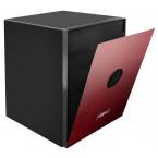 Phoenix Spectrum Plus LS6012FR Burgundy Red 90 min Fire Safe - changeable colour door face