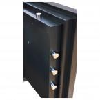 Phoenix Next LS7001FB Luxury Black 60 mins Fire Security Safe - door bolts