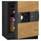 Phoenix Next LS7001FO Luxury Oak Panel 60 mins Fire Security Safe - door ajar