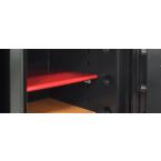 Phoenix Next LS7001FO Luxury Oak Panel 60 mins Fire Security Safe - shelf