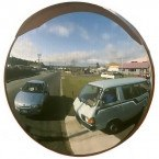 Stainless Steel Outdoor Convex Mirror - Securikey 600mm Diameter