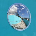 Securikey Anti-Vandal Stainless Steel Wall Dome Mirror 500mm