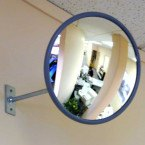 Securikey M18020J Interior Acrylic Convex Wall Mirror 300mm - Retail Shop use